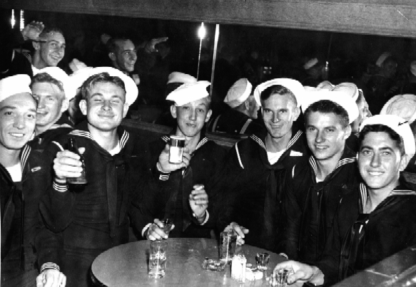 USS Indianapolis  crewmen, May 3, 1945.