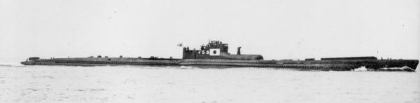 The Japanese submarine  I-58