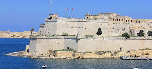 Fort St. Angelo today