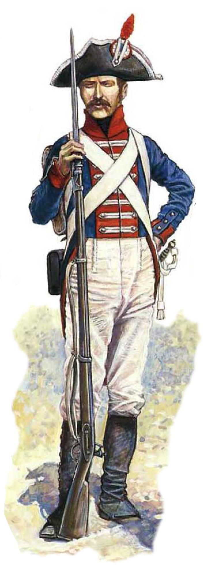 A Westphalian private in Napoleon's service