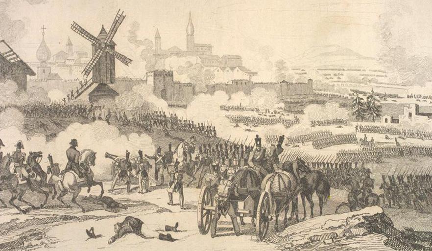 The taking of Smolensk, August 1812
