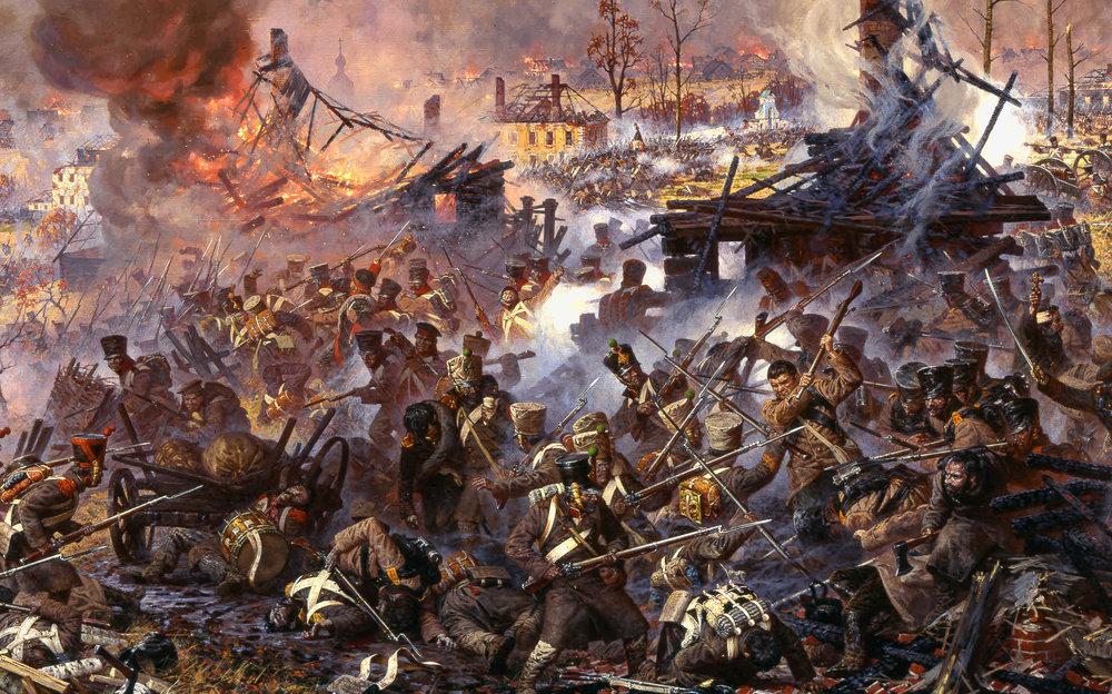 The Battle of Maloyaroslavets