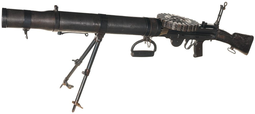 The Lewis Light Machine Gun