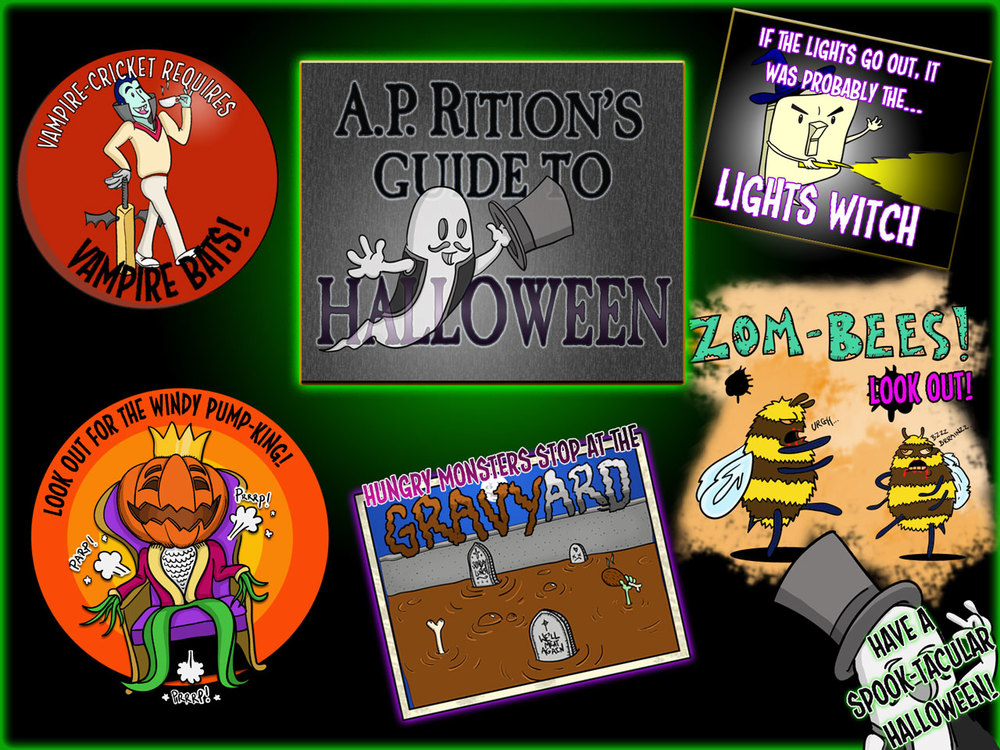 'A.P. Rition's Guide to Halloween'