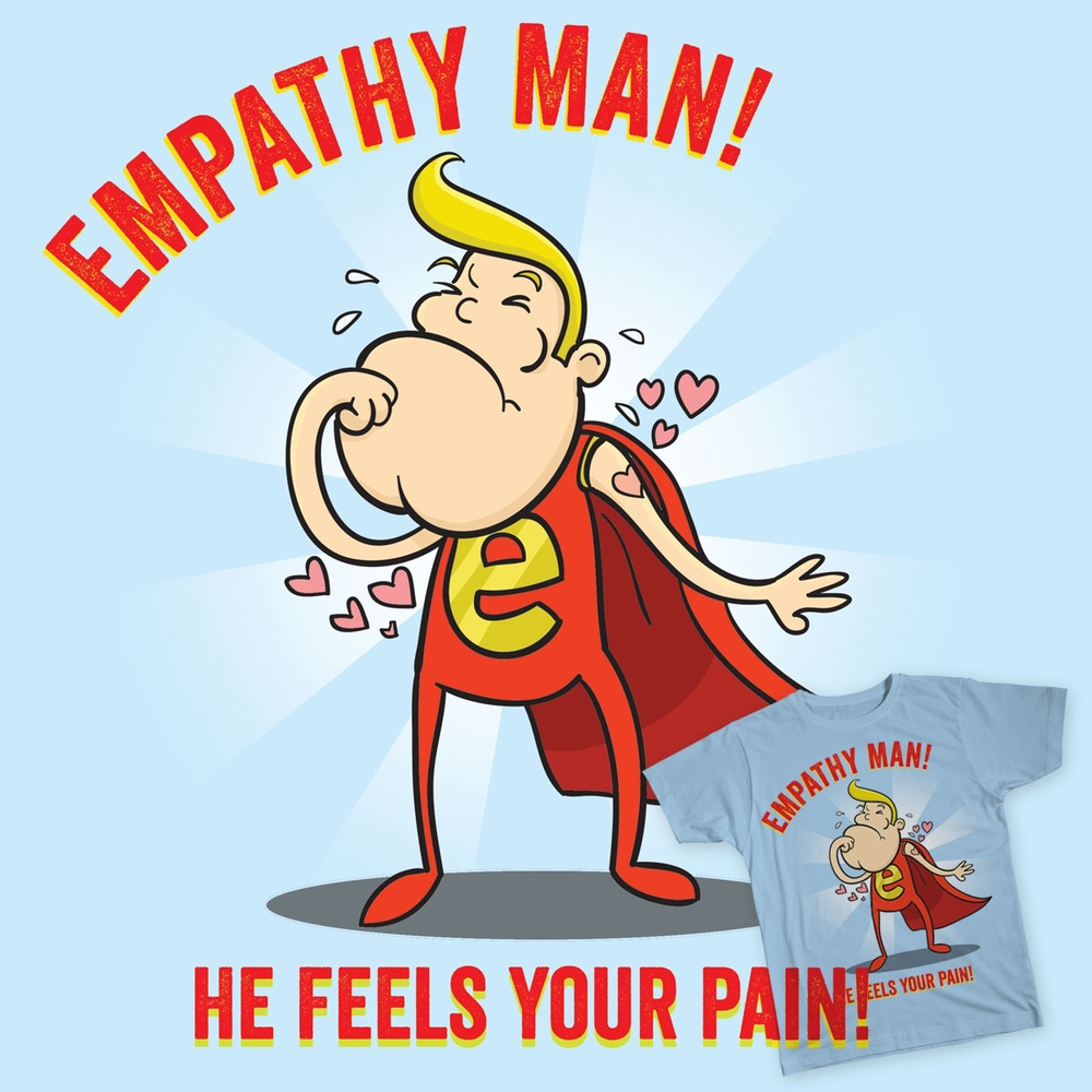 'Empathy Man' - T-shirt