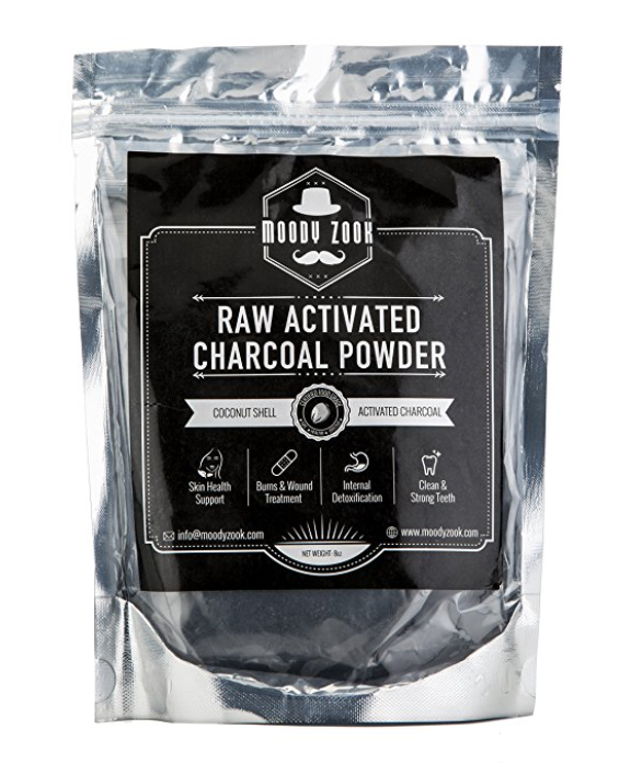 Organic Activated Charcoal Powder by Moody Zook