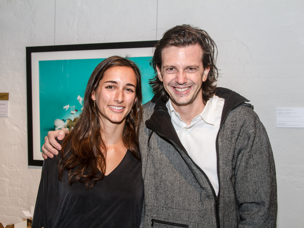 Winner: Christiana Theophanopoulos with  Ryan McGinness