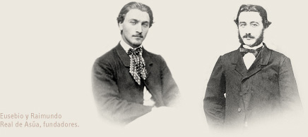 Founders of CVNE, brothers Raimundo and Eusebio Real de Asúa