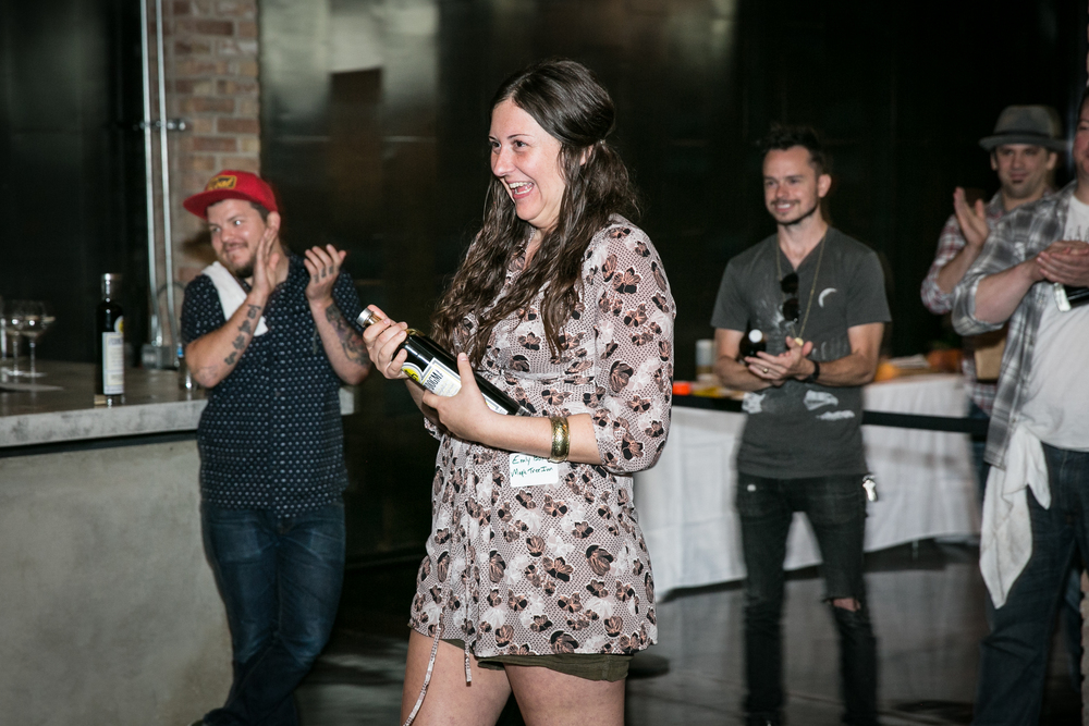 Emily Bohn, Winner of the 2015 Tenzing Coupe Cocktail Competition