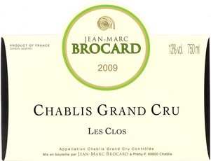 The largest and most famous of the Grands Crus, this site rests in the historical cradle of Chablis. VITICULTURE 100% Chardonnay from 30 year old vines with due south orientation. Soils are very white, dense, and deep clay resting on a Kimmeridgian marl with limestone bed 80 cm below the surface, which lends spicy notes, typical of this terroir. As with all of Brocard's wines, the vineyard is farmed in an environmentally-friendly manner.