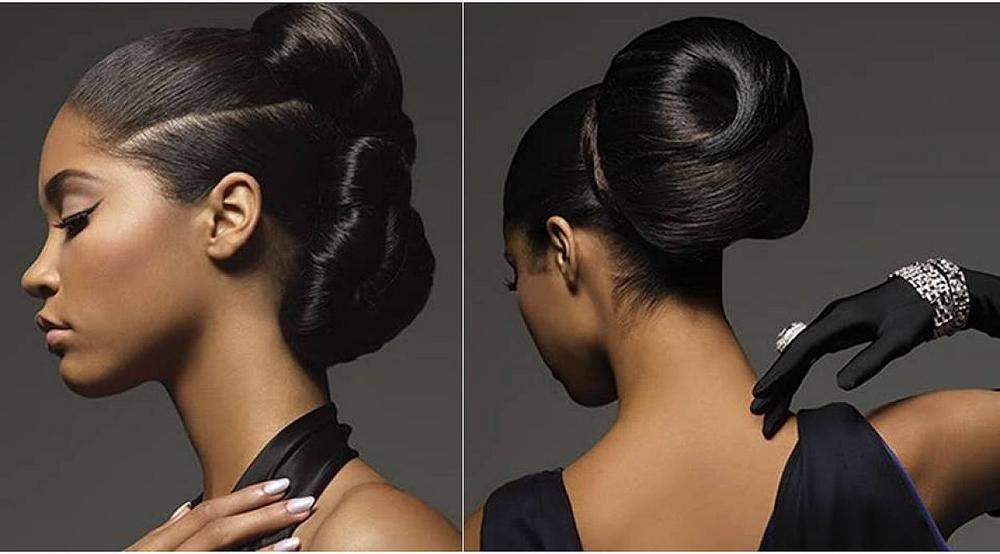 Seattle bride black wedding hair makeup.jpg