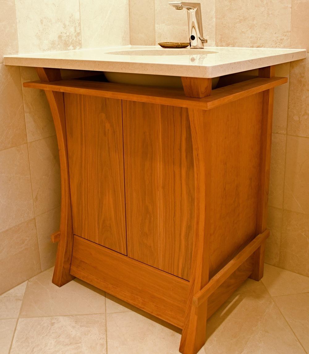 Custom Built Bathroom Vanity