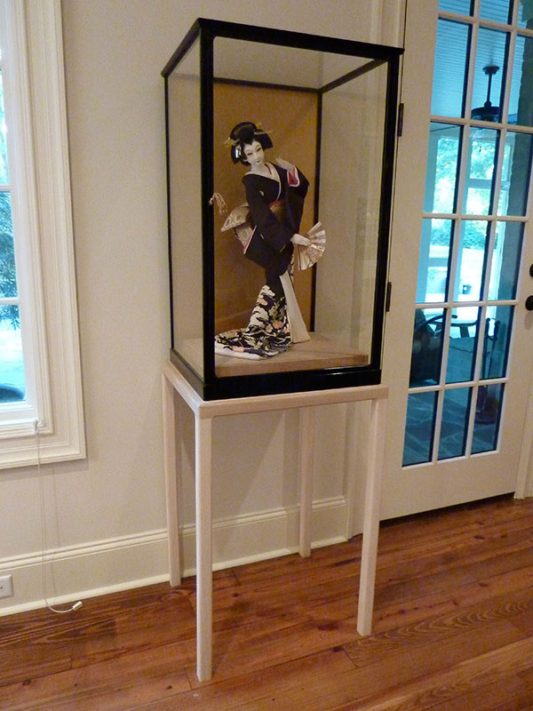 Custom Display Cabinet for Museum
