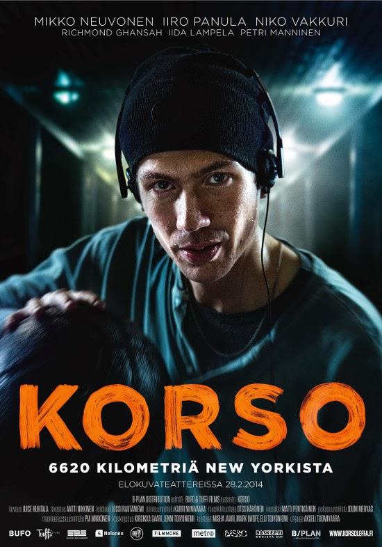 KORSO –  6620 Kilometriä New Yorkista dir. Akseli Tuomivaara Bufo / Tuffi Films / 2014