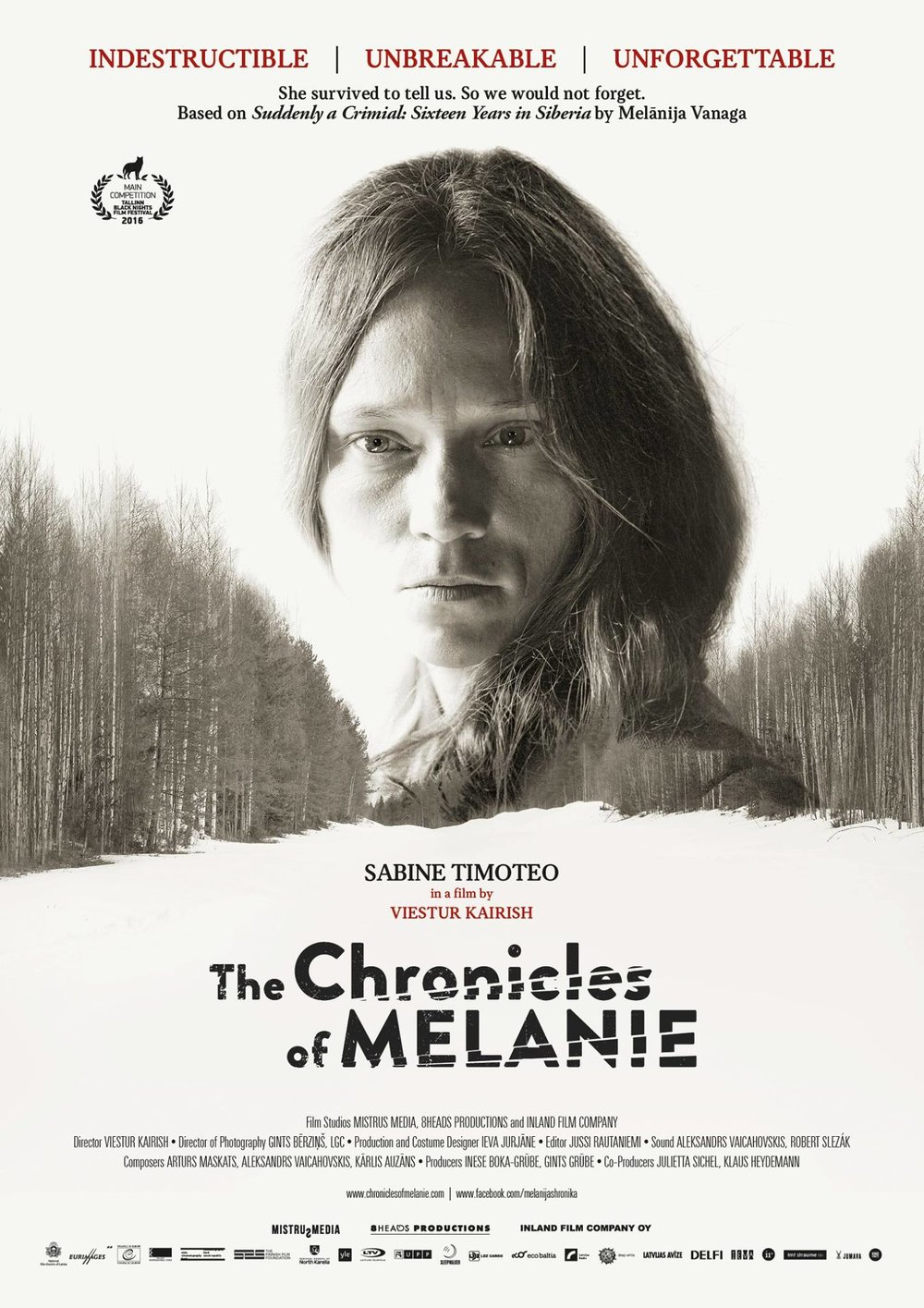 Chronicles of Melanie dir. Viesturs Kairiss Mistrus media, Inland Film Company TBA 2016, (TEMP IMAGE)