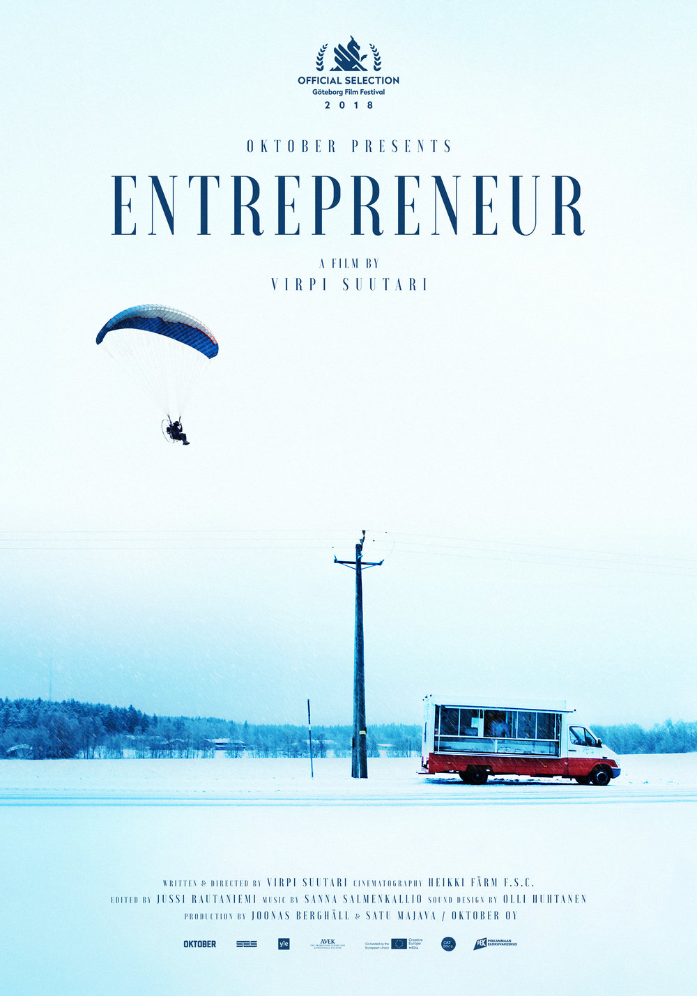 The Entrepreneur  - Feature documentary dir. Virpi Suutari Oktober / 2018
