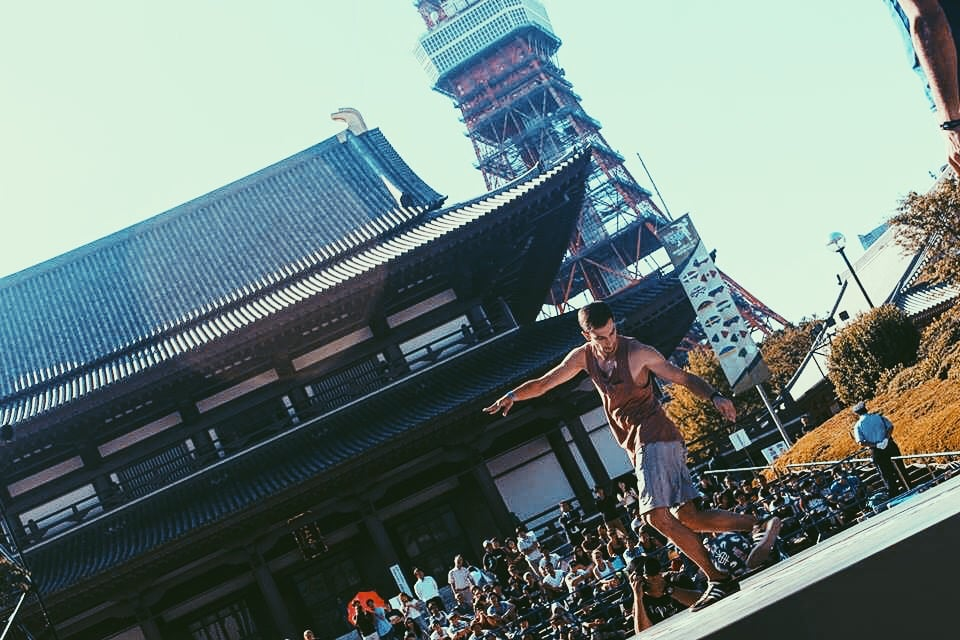 Zojo-ji temple,Red Bull Street Style World Finals in Tokyo, Japan (2013)