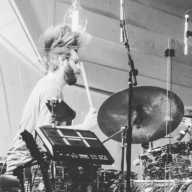 THE HAIR FLIP - the result of @zachwrightdrums playing rock n roll. It changes lives. 📷= Breanne Ciccone . . . #rocknroll #drummer #drums #indierock #indieband #indiemusic #seattle #pnw #rock #pop #hairstyle #menshair #hairflip