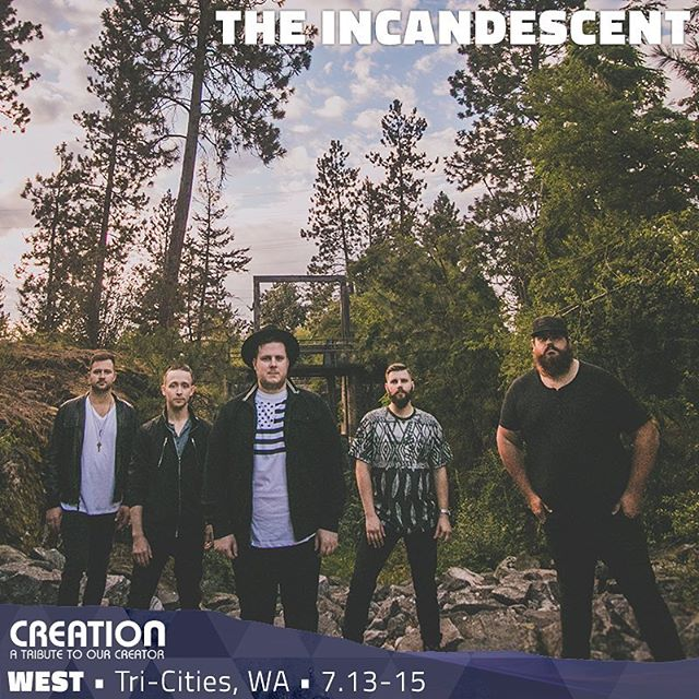 Who's excited for @creationfest NW!?!? We are!!! Plus we'll be there exactly one month from today! Will you be? Get your tickets today! 👉🏼 creation fest.com/nw/tickets