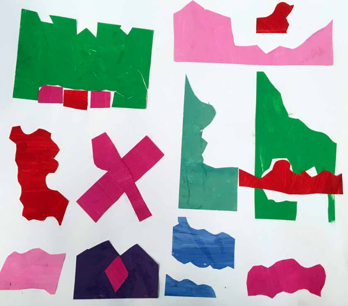 Matisse Inspired Collage: Exploring Shape and Color