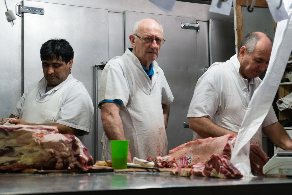 The famous butchers of San Telmo market. This guy loved me. My key to getting the kind of shots I want is to sadly, not give a shit. Yell at me, chase me, whatever. I still got it. I still captured your soul with my camera!