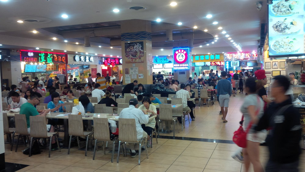 Flushing's New World Mall Food Court. Google Images.
