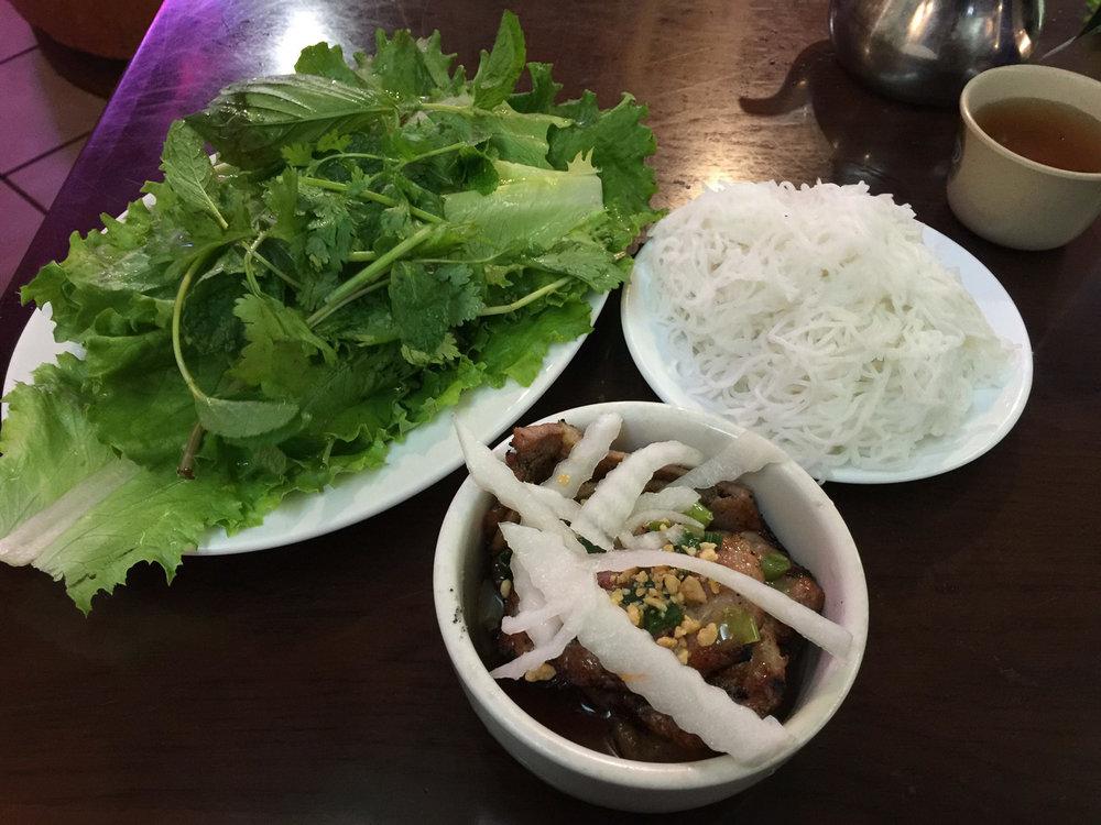 Pho Bac's Hanoi Style Bun Cha.