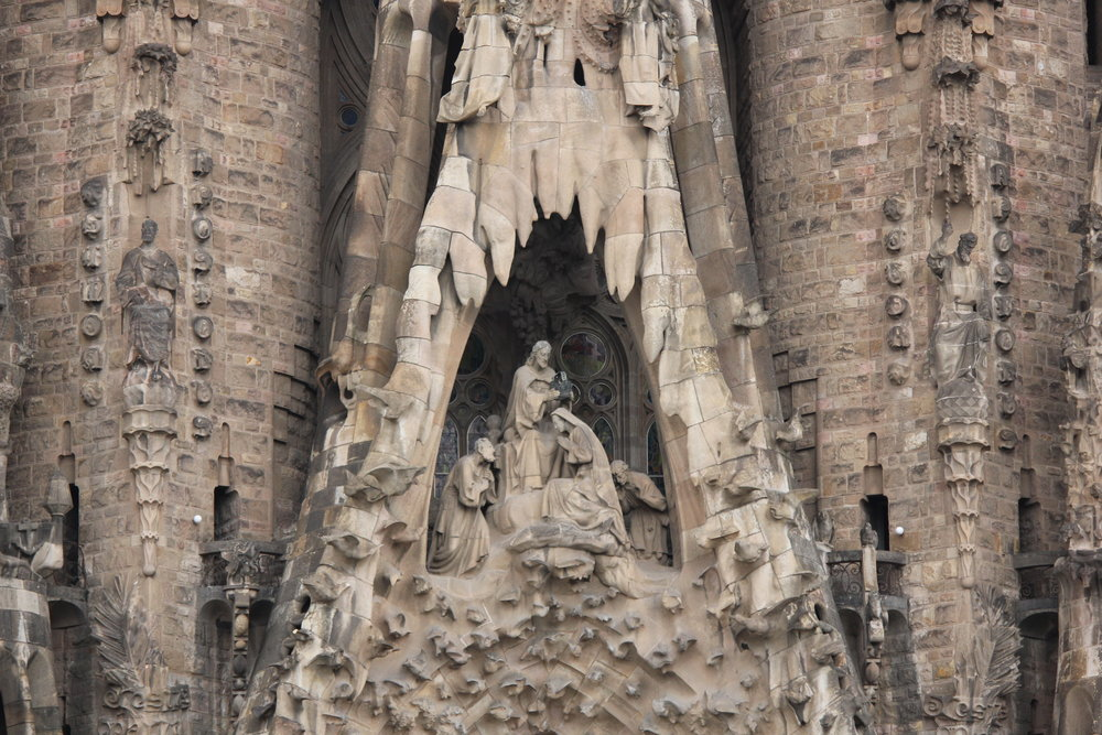 My Gaudi, what a structure.