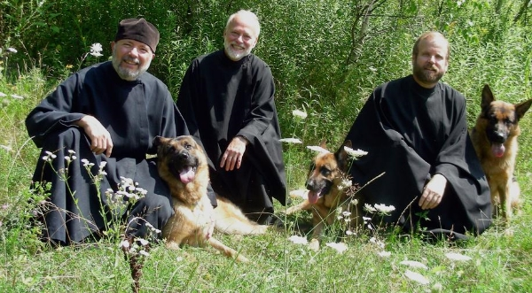The monks of  New Skete Monastery , who train dogs!
