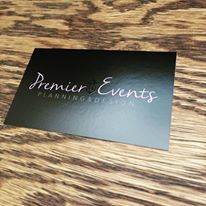 Premier Events Business Card