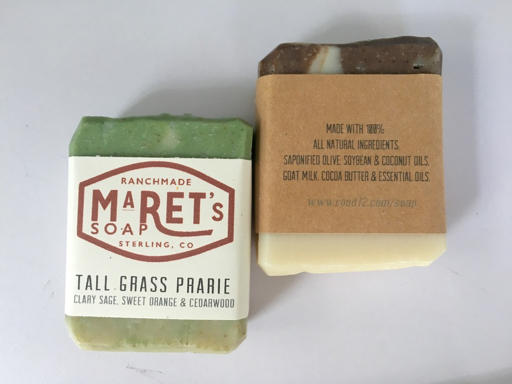 Made with 100% all natural ingredients, Maret's Soaps offers 16 different soap scents in 5 different varieties. From fragrance free, goat milk, and mechanics soap, there WILL be something that suits you.