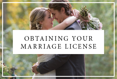 Obtaining A Marriage License