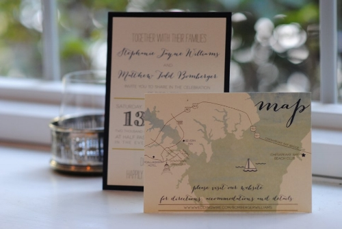 Invitations by  Paper in the Park
