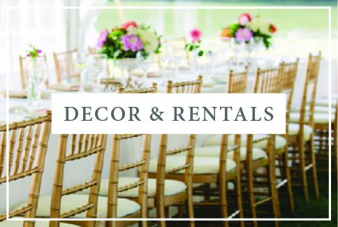 Wedding Decor & Rentals