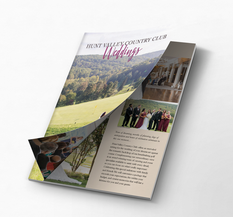 Hunt Valley Country Club Wedding Brochure