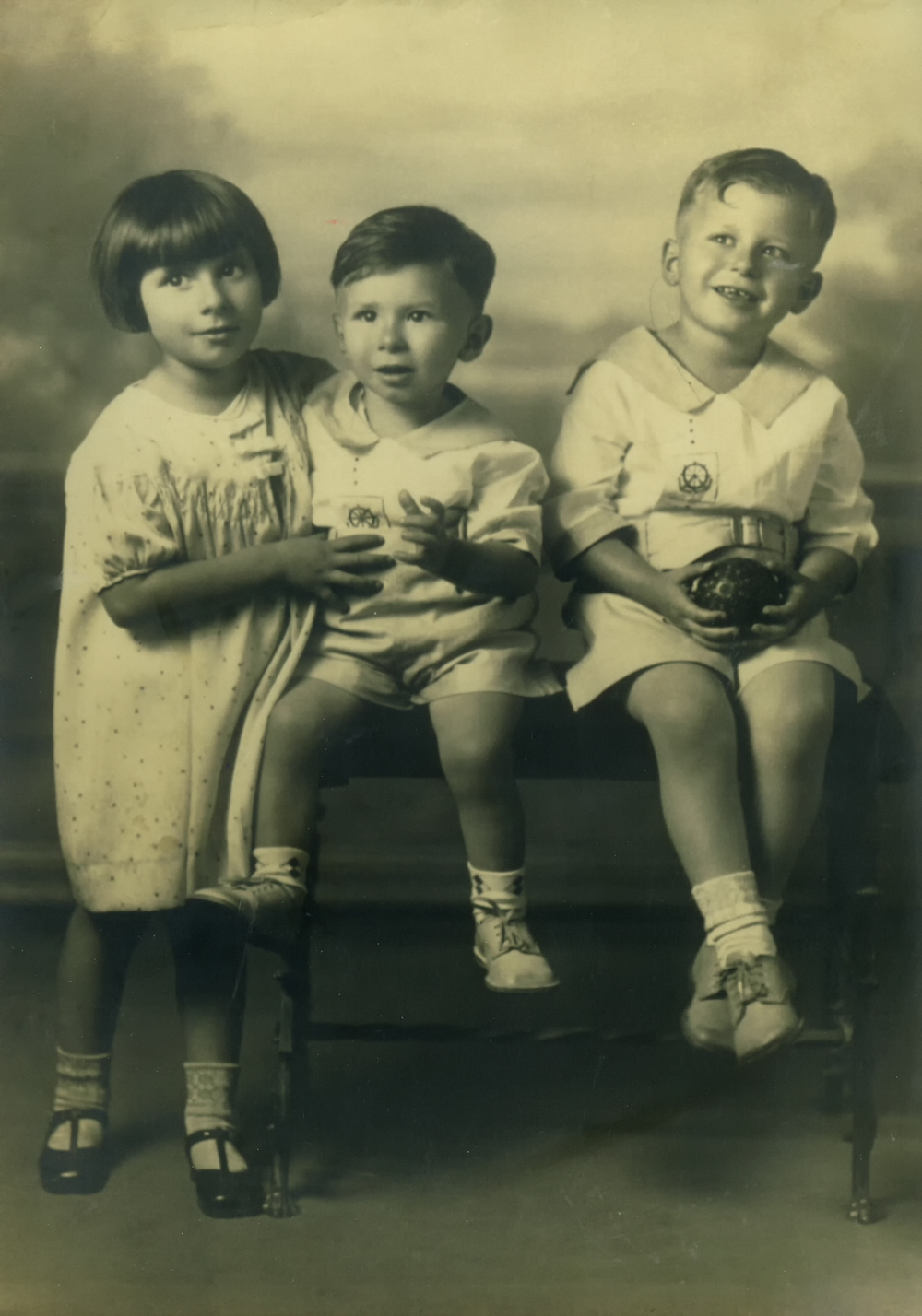 Lorraine, Buck, and Angelo Sangiacomo
