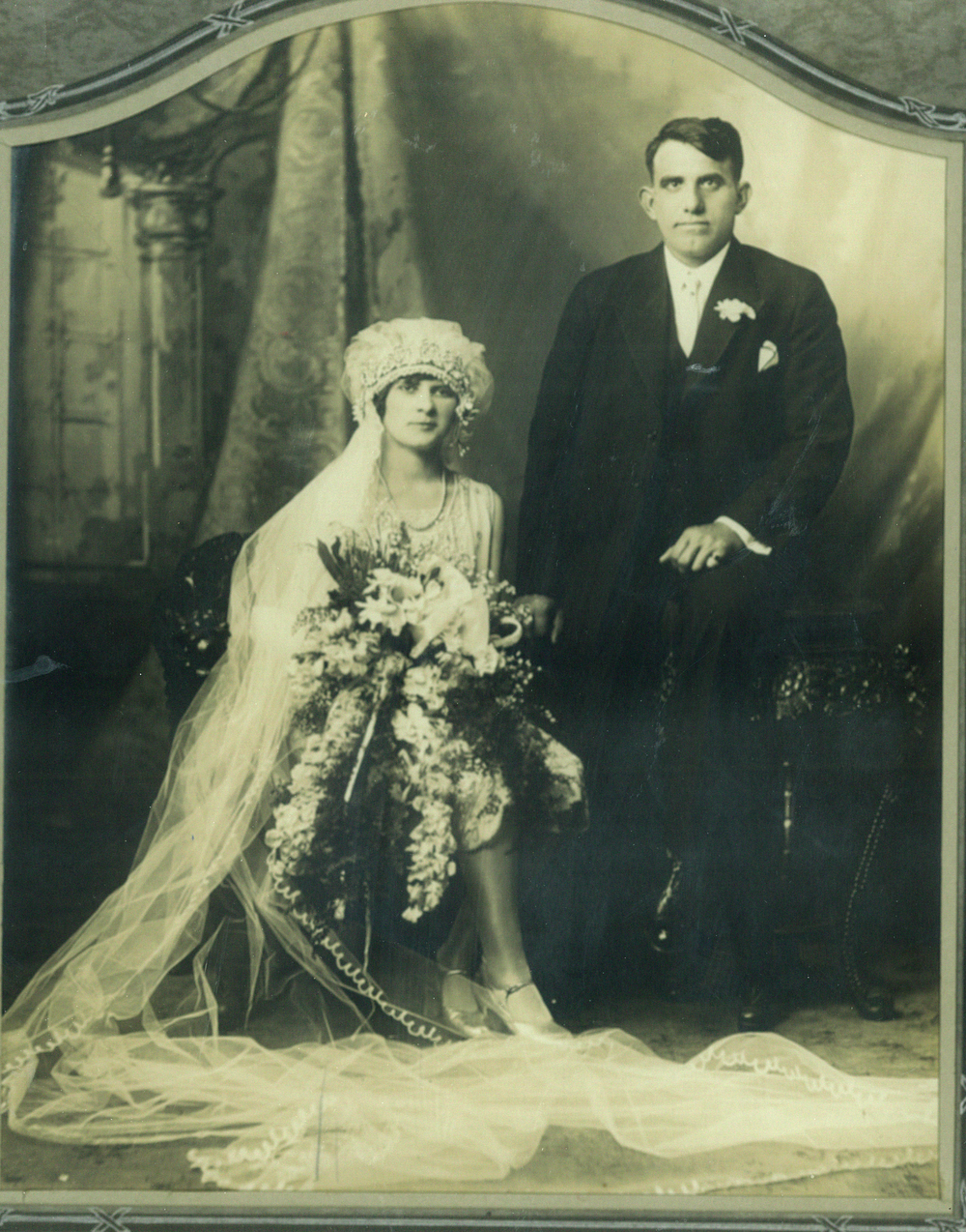 Maria and Vittorio Sangiacomo, 1927