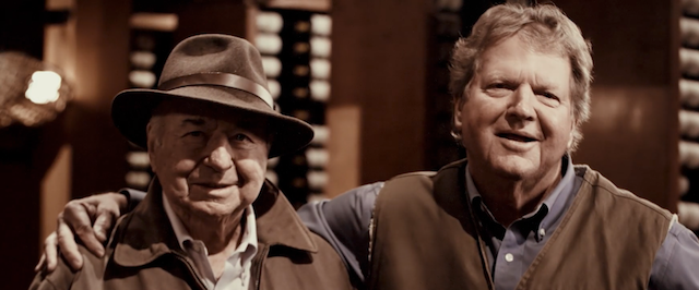 Angelo Sangiacomo, Sangiacomo Vineyards, and Jim Bundschu, Gundlach-Bundschu Winery