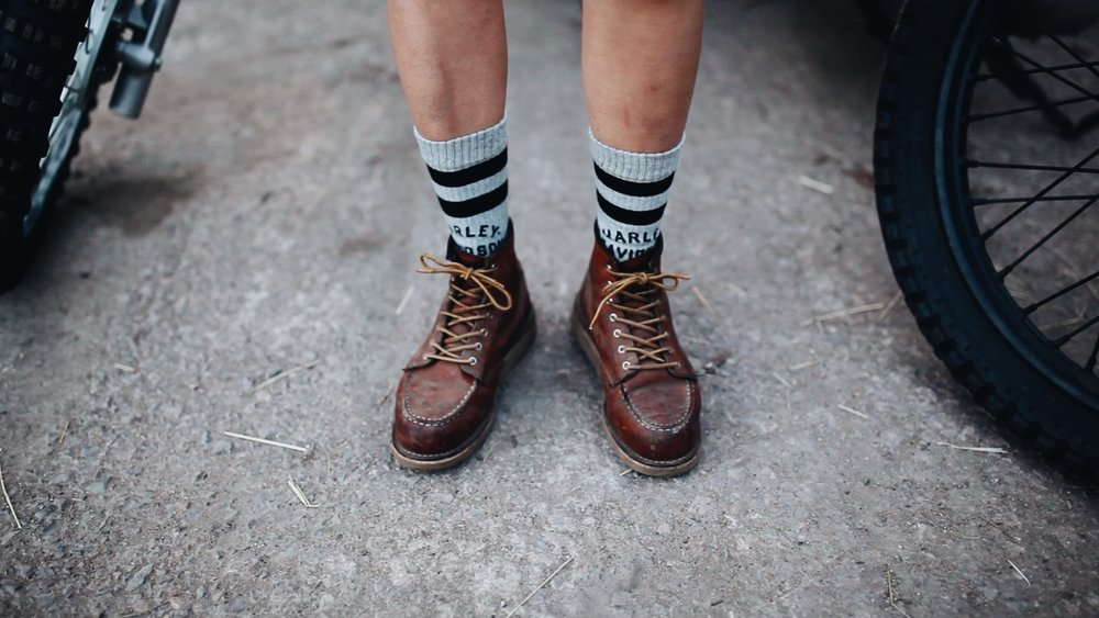 A MASSIVE THANKS TO STANCE SOCKS & RED WING !