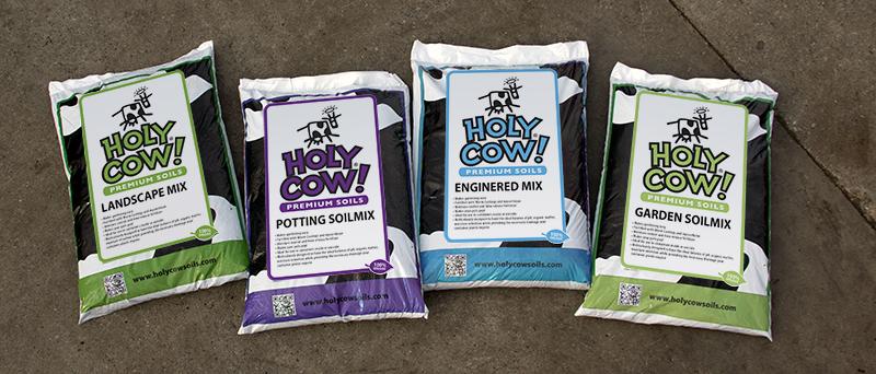 Holy Cow Soils Brand Development