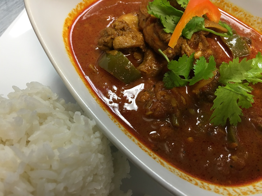 Volcano Chicken Curry