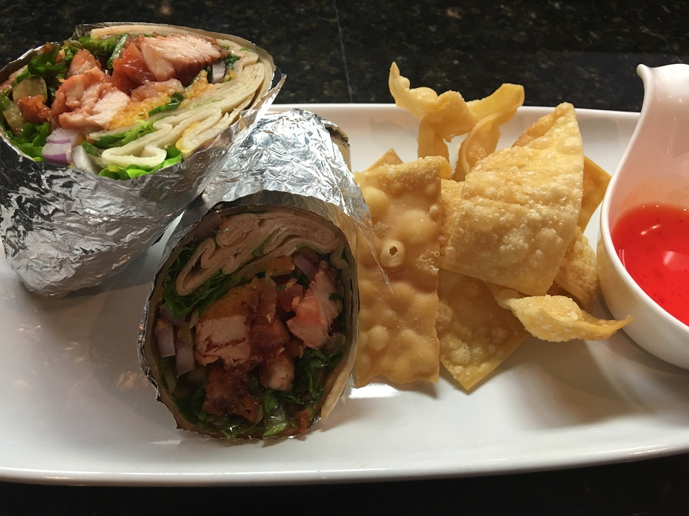 Honey Chicken Wrap - this weekend only!