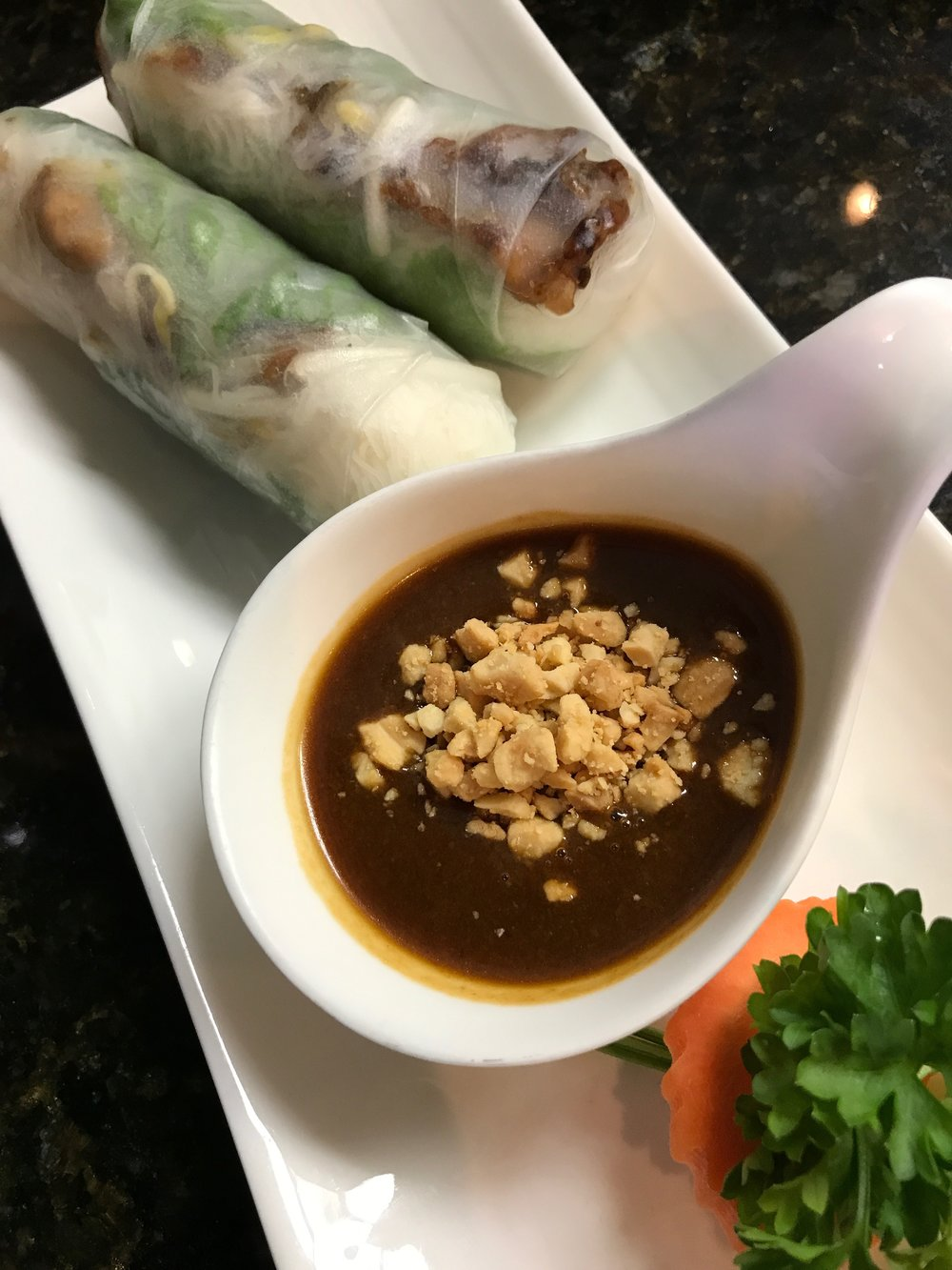 Lemongrass Pork Rolls