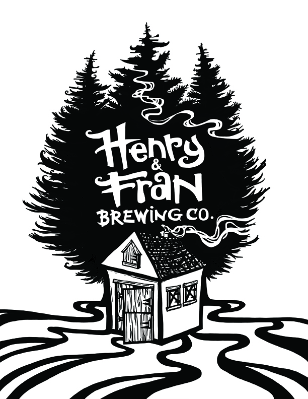 Logo Design for Henry and Fran Brewing Company
