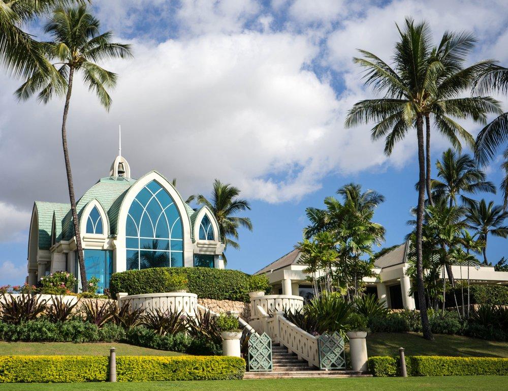 A church in Oahu, Hawai'i