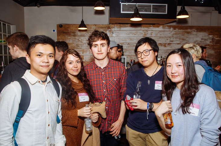 Creatives from Orb and my friends @Klick meet up night