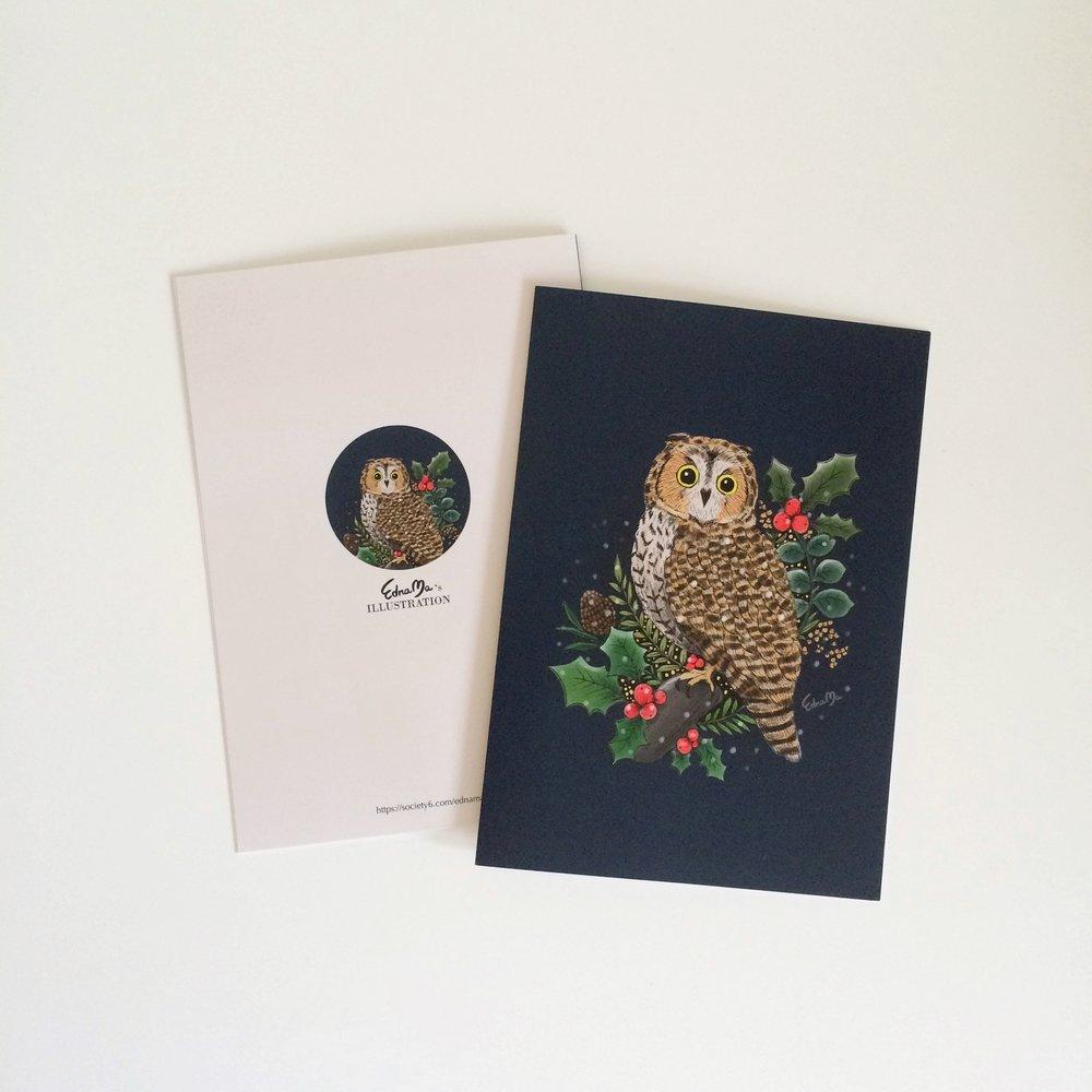 Holly owl