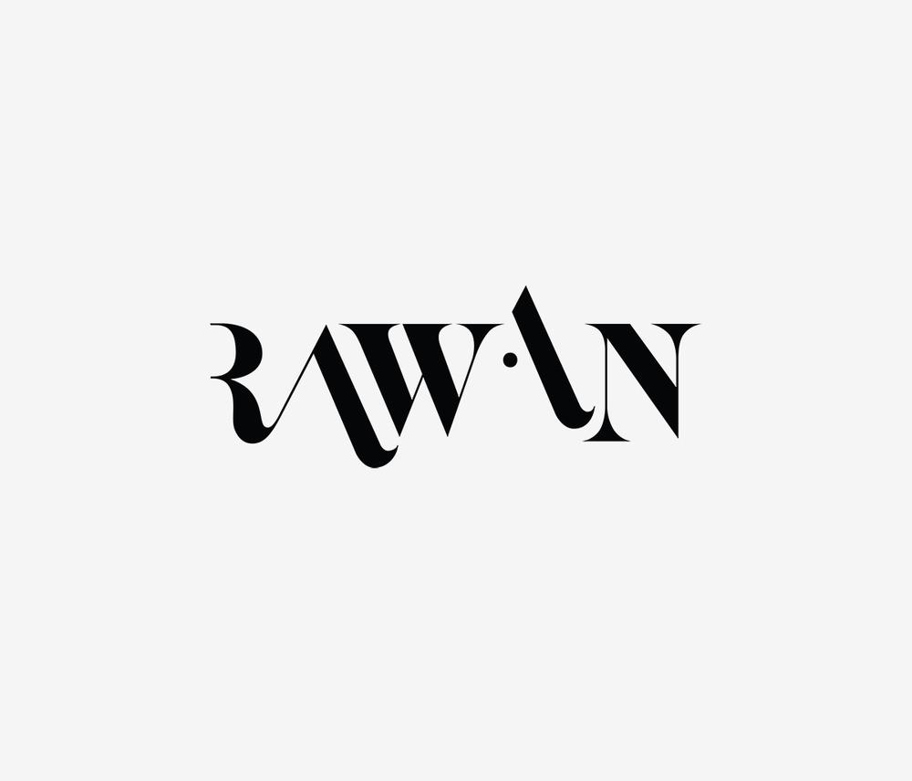 rawan rihani logo design for fashion designer rawan rihani: krishnafitzpatrick.com/rawan-rihani