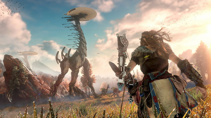 Capture d'image du jeu tiré de https://www.digitaltrends.com/game-reviews/horizon-zero-dawn-review/