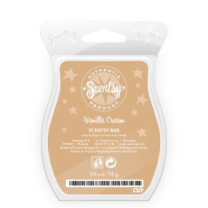 Vanilla Cream Scentsy Bar